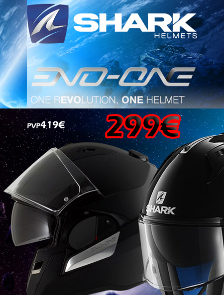 cascos shark evo one
