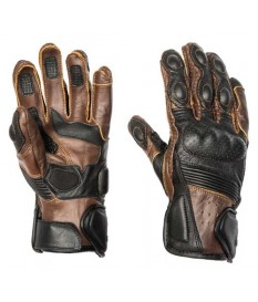GUANTES BY CITY RIDER MARRON NEGRO