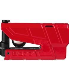 Abus Candado Disco 8077 Granit Detecto Xplus Rojo