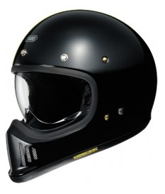 Shoei Ex Zero Negro Brillo