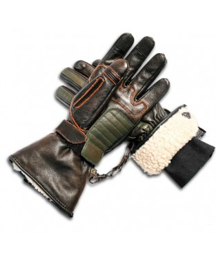 Guantes By City Oslo Marron