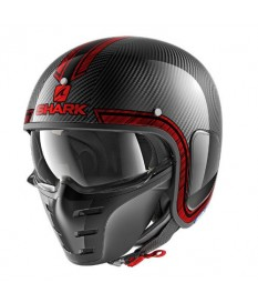 Shark S Drak Carbon Vinta Red
