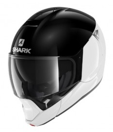 Casco Shark EVOJET Dual Black White WKW