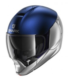 Casco Shark EVOJET Dual Blue Silver SBS
