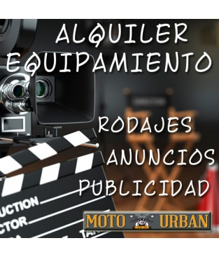 Alquiler Equipamiento Moto Madrid