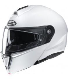 Hjc I90 Fluo White