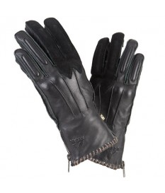 Guantes By City Winter Skin Negro