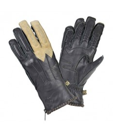 Guantes By City Winter Skin Negro Beige