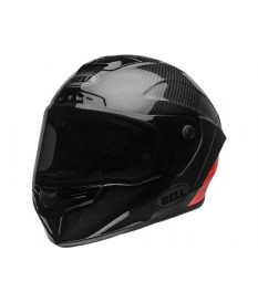 Casco Bell Race Star Flex DLX Lux Matte Black Red