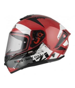 Casco NZI Trendy Canadian Red White
