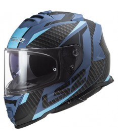 Casco LS2 FF800 Storm Racer Matt Blue