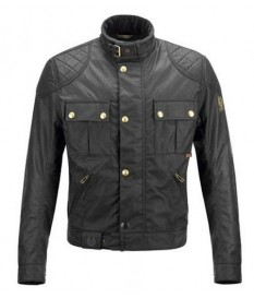 CAZADORA BELSTAFF BROOKLANDS BLACK