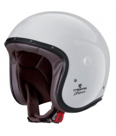 CASCO CABERG FREERIDE BLANCO BRILLO