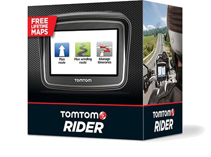 GPS MOTO TOMTOM RIDER 5