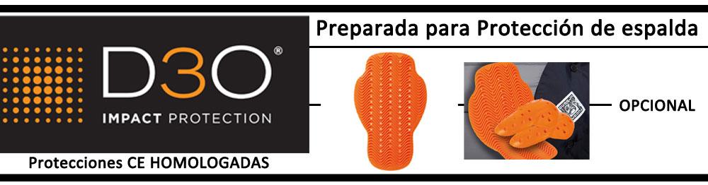 proteccion espalda chaqueta tucano urbano