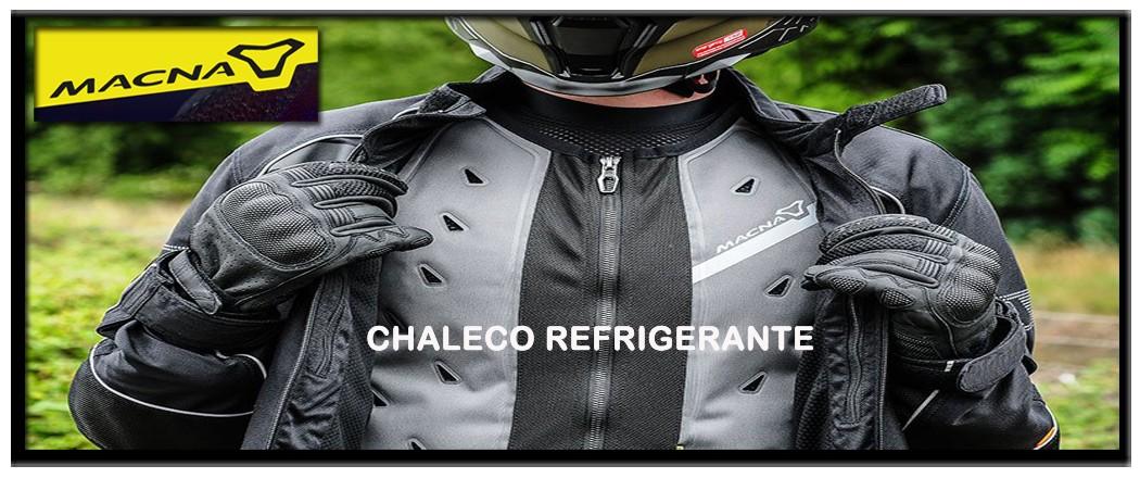 chaleco refrigerante macna moto urban