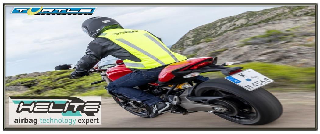 airbag moto helite